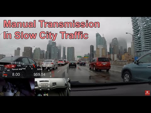 Driving Manual Transmission In Slow Moving Traffic