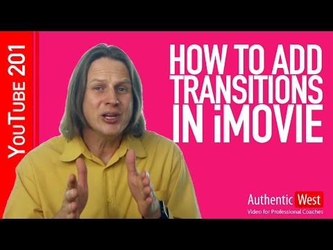 How to Add Transitions in iMovie | Video Coach Brighton West
