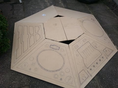 TARDIS console build doctor who part 1