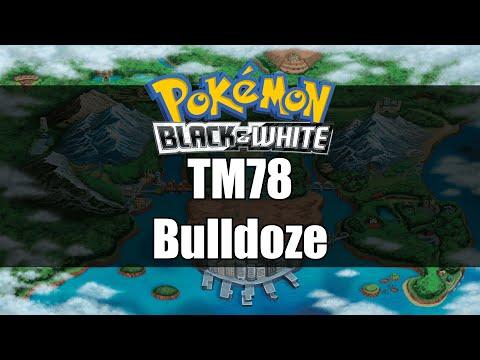 Pokemon Black and White | Where to get TM78 Bulldoze