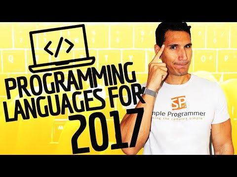 TOP 10 Programming Languages To Learn For 2017 (& Beyond)