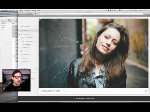 How to Build a Squarespace Photography Website!