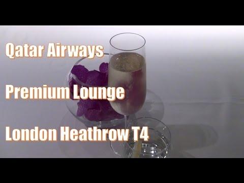 Qatar Airways | Premium Lounge | London Heathrow T4