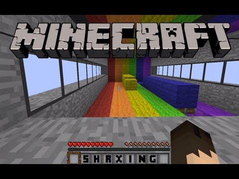 Rainbow Runner - Minecraft Mini-Game