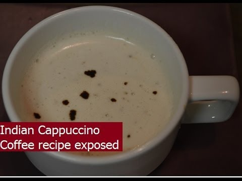 Indian Cappuccino Coffee at home, Beaten Coffee recipe exposed