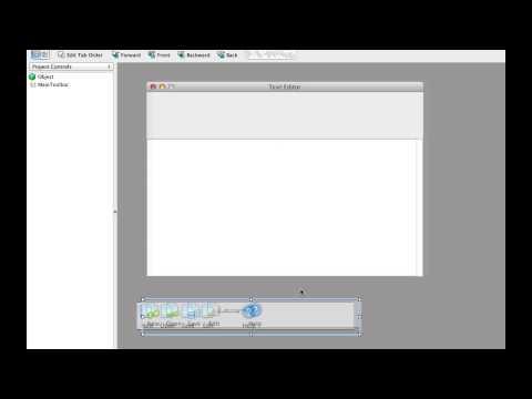 Adding a Toolbar to a Desktop Application