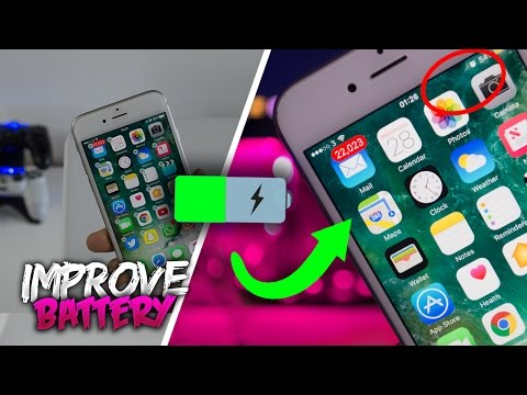 How To IMPROVE iPhone BATTERY Life iOS 11.2.1! (How to Improve Battery Life on iOS 11!) [Life Hacks]