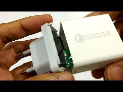 Qualcomm Quick Charge 3.0 Charger -Disassembly (China made)