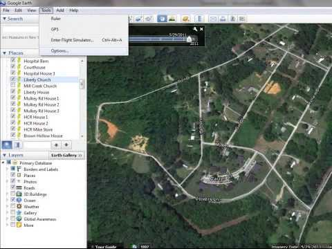 Converting GPS Coordinates to Decimals in Google Earth