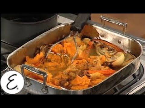 Acorn Squash and Pumpkin Soup