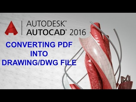 Convert PDF to CAD File as Per Accurate Scale