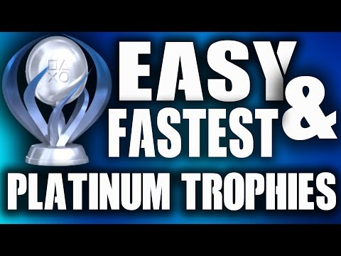 PS4 10 Easiest & Fastest Platinum Trophies Cheap Video Games