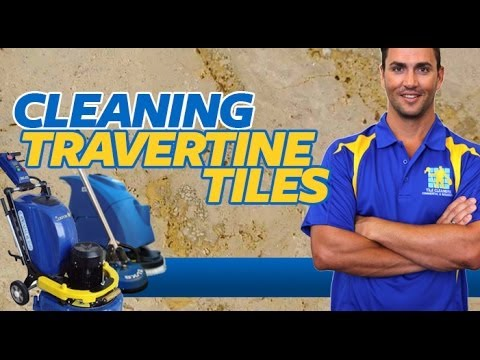 How to Clean Travertine Tiles | Travertine Cleaning