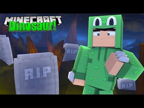 VISITING A DINOSAUR GRAVEYARD! - Minecraft Dinosaurs w/ Little Lizard