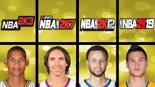 Highest Rated Free Throw Shooters Ever In NBA 2K Games (NBA 2K3 - NBA 2K19)