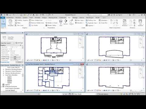 Create Rentable area plans | Revit Areas from LinkedIn Learning
