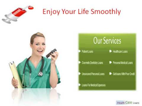 Health Care Loans - Personal Medical Loans - Get loans With Poor Credit