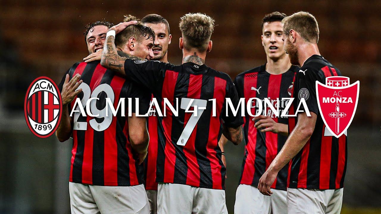 Highlights   AC Milan 4-1 Monza   Pre-season friendly 2020/21