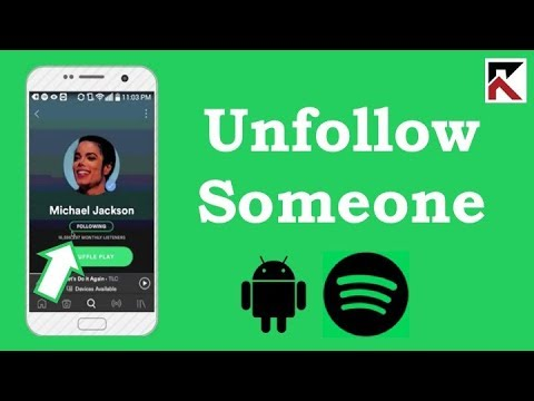 How To Unfollow Someone On Spotify Android