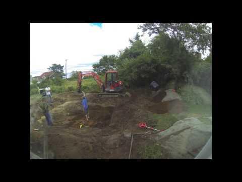 Koi pond dig - Day 1 Part 2