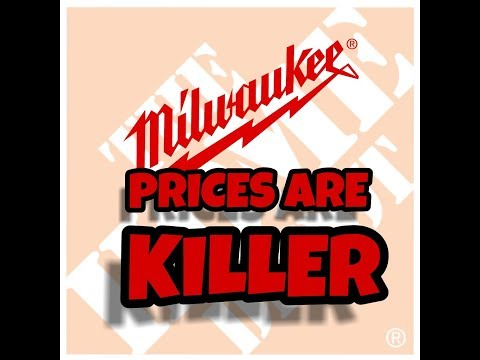 Milwaukee Has Lowered Their Tool Prices For The Holidays - Stroll Through Home Depot