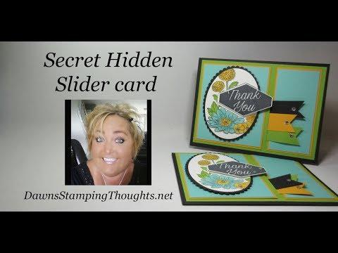 Secret Hidden Slider card