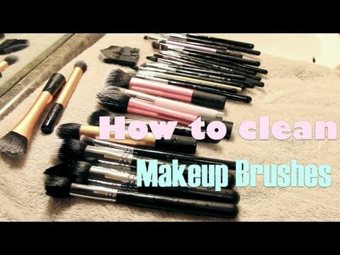 How to Deep Clean Makeup Brushes (w/out buying anything)