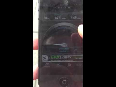 Apple iPhone 5 4G LTE Speed Test 23.45Mbps