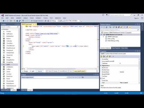 ASP.NET Label - how to set text (3 different ways) (VB.NET)