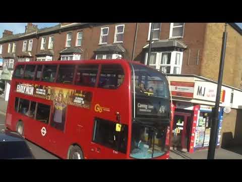 Full Route Visual~238: Barking Station - Stratford Bus Station