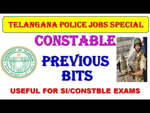 ts constable previous papers 2016||Police Constable Prelims Previous Paper||ts constable preparation
