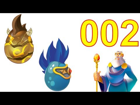 Dragon City Gameplay Tutorial Part 2 Level 6 (Got Double Terra Dragon, Deus Pet Dragon)