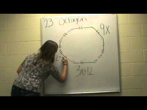 finding the measurement of a side of a octagon