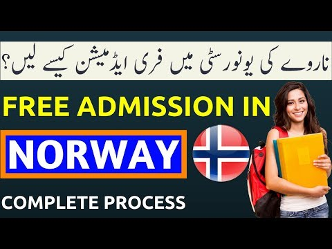 How to Get Admission in Norway University