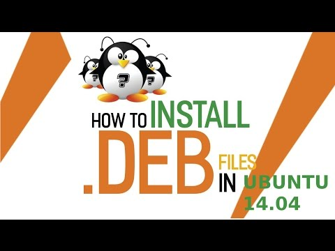 How to install .deb application package on Ubuntu 14.04 using terminals