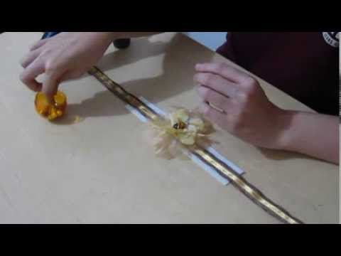 How to make: Flower Choker/Necklace