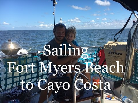 Sailing to Cayo Costa from Fort Myers Beach