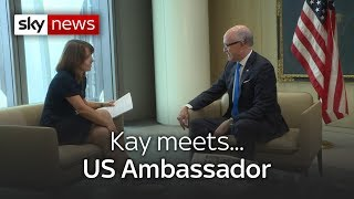 Kay meets... US ambassador to the UK