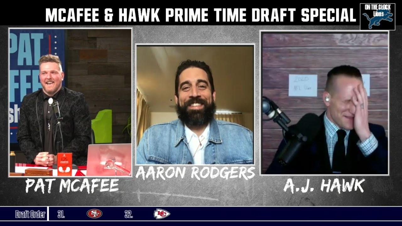 McAfee & Hawk Sports Talk  - Mel Kiper Impression Part 1