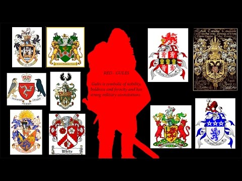 What Do Colours Symbolize In Medieval Coats Of Arms?