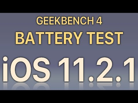 iOS 11.2.1 Battery Life Test : Has it improved vs iOS 11.2?