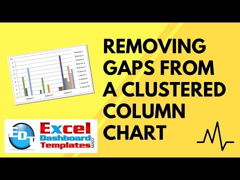 Friday Challenge Preview Part 2 - Removing Gaps from an Excel Clustered Column Chart