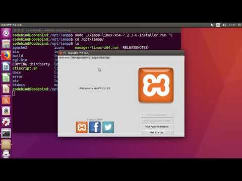 How to install XAMPP on Ubuntu 16.04 (Linux)