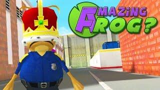 KING POLICE FROG - Amazing Frog - Part 76   Pungence