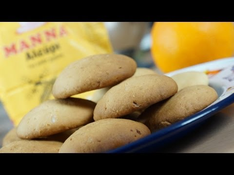 Easy Orange Biscuits