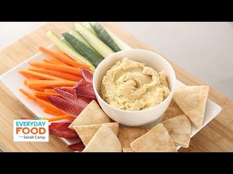 Classic Hummus Recipe - Everyday Food with Sarah Carey