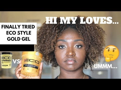 GOLD Eco Style vs BLACK Castor Eco Style | Natural Hair