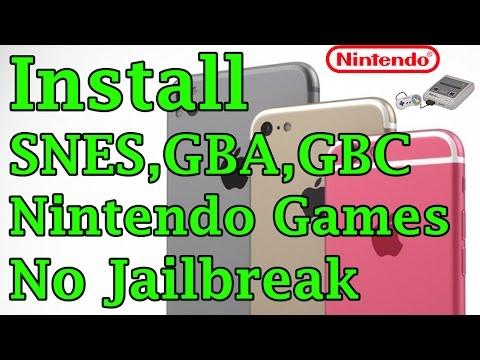 New Install GBA NES SEGA GBC Games Free No Jailbreak iOS 10/9.3.2/9.3.1 On iPhone/iPod/iPad