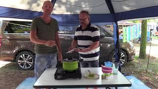 Campingküche One Pot Pasta - Alles In Einen Topf Perfekt Fürs Camping Im Wohnmobil Und Vanlife