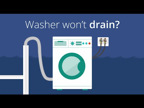 Washer Won't Drain? How to Clean Out Your Drain Hose